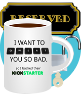Qwert supporter reward - access level 2 + *Q name + supporter coffee mug